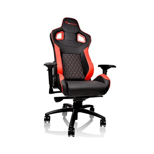 SILLA GAMING THERMALTAKE GT FIT eSPORTS NEGRO/ROJO